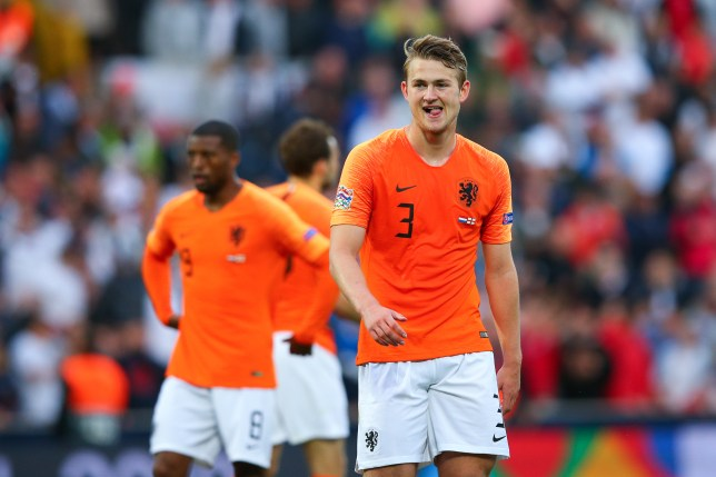Manchester United and Barcelona are battling it out for Matthijs De Ligt