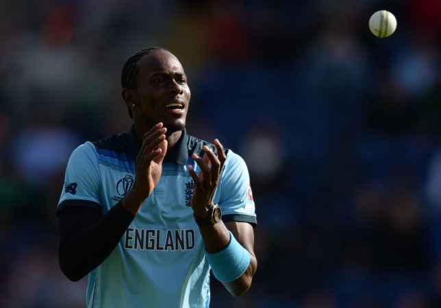 Jofra Archer is leading England's bowling attack at the Cricket World Cup