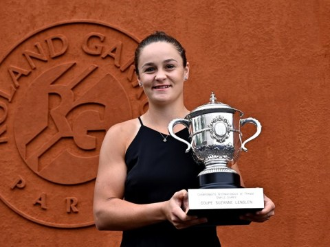 French Open champion Ash Barty will chase Naomi Osaka's No. 1 ranking on British soil during grass-court season
