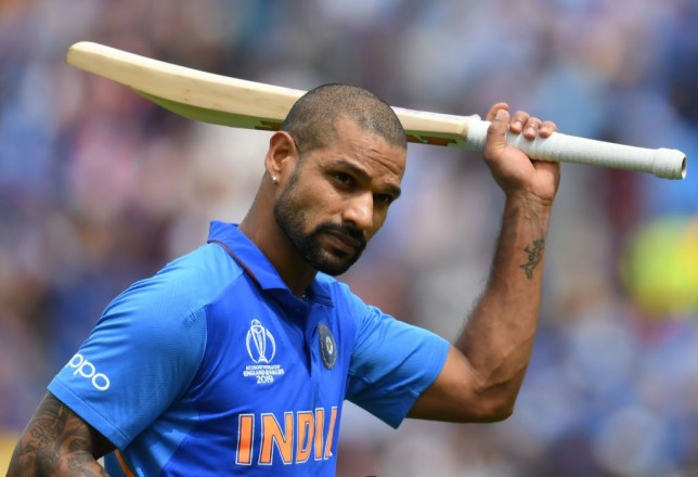 Shikhar Dhawan scored a century as India beat Australia in the Cricket World Cup