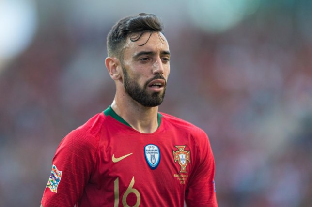 Bruno Fernandes is expected to leave Sporting Lisbon this summer