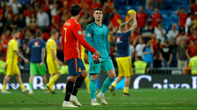 Chelsea star Kepa Arrizabalaga has started Spain's last three matches in Euro 2020 qualifying