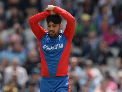 Afghanistan spinner Rashid Khan sets unwanted World Cup record in England hammering