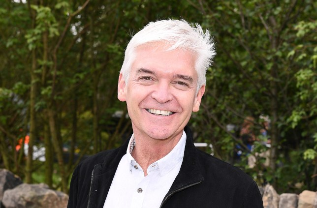 Phillip Schofield at the Chelsea Flower Show