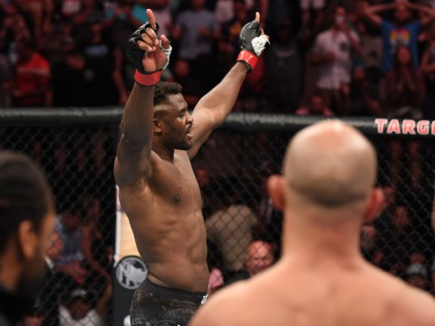 Francis Ngannou demands title shot after 71-second knockout of Junior dos Santos
