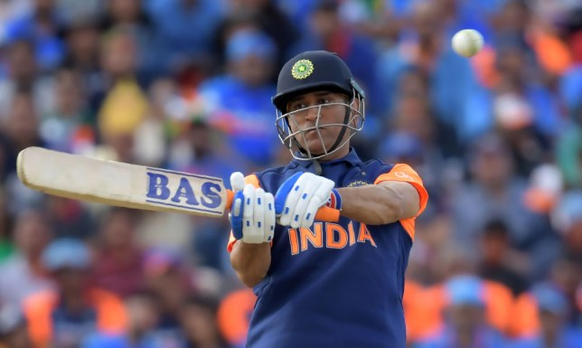 MS Dhoni was criticised following India's World Cup defeat to England