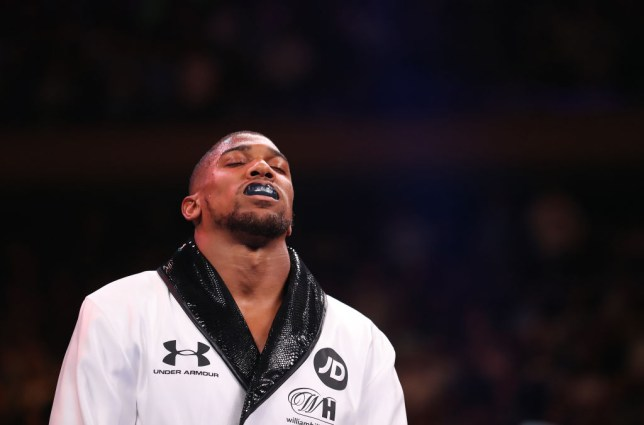 Anthony Joshua suffered a shock defeat to Andy Ruiz