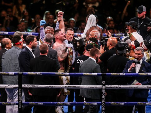 Eddie Hearn thought Anthony Joshua's dad was going to punch him after Andy Ruiz loss