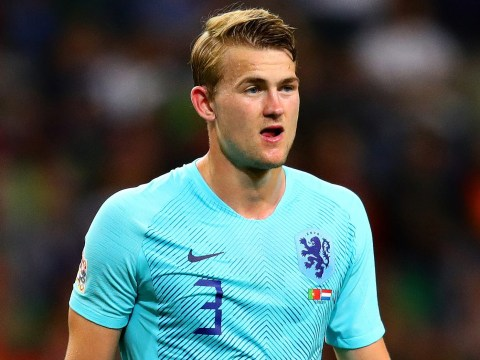 Matthijs de Ligt names the two stars he most wants to play with at Barcelona