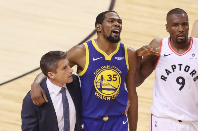 bd52a30104d Draymond Green slams 'classless' Toronto Raptors fans for booing Kevin  Durant after injury collapse