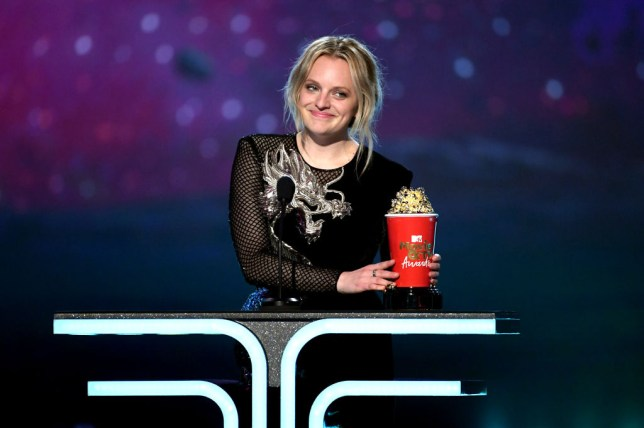 Elisabeth Moss wins at the MTV Movie and TV awards