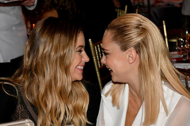 Cara Delevingne calls girlfriend Ashley Benson 'the love of her life' in sweet awards speech after going public
