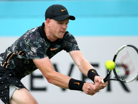 Kyle Edmund last Brit standing at Queen's as rain delays Stefanos Tsitsipas tie