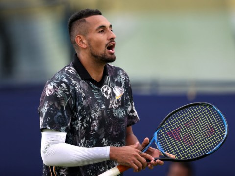'You're taking the f**king p*ss': Nick Kyrgios rages at officials during Queen's win