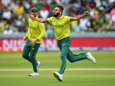 South Africa star Imran Tahir breaks World Cup record during Pakistan clash