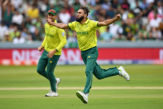 Cricket World Cup: Imran Tahir breaks record during South Africa v Pakistan