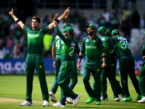 Pakistan pile pressure on England with thrilling final-over World Cup win over Afghanistan
