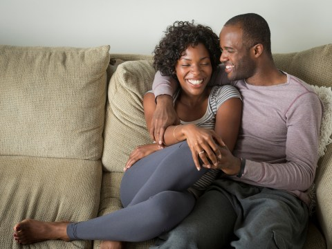 The way you sit on your sofa with your partner could say a lot about your relationship