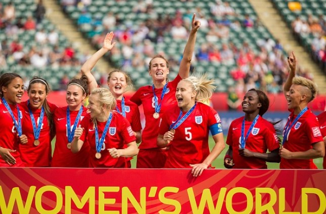 England's Lionesses celebrated their win over Germany at the Women's World Cup in 2015