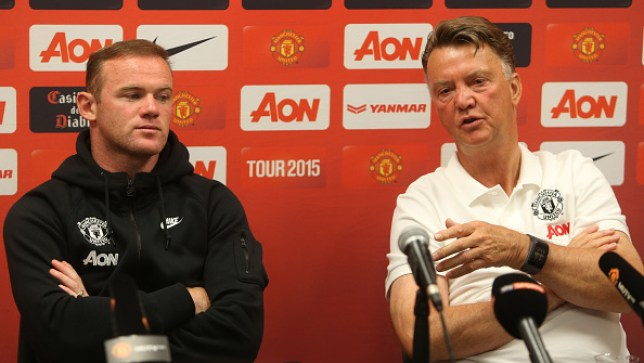 Wayne Rooney was made club captain under Louis van Gaal