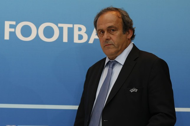 Michel Platini has been arrested in France
