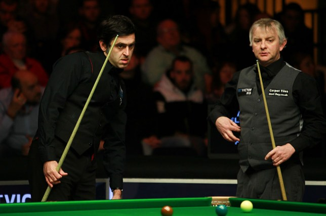 Barry Pinches and Ronnie O'Sullivan
