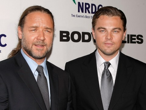 Russell Crowe once got drunk and bought a $35,000 dinosaur skull from Leonardo DiCaprio