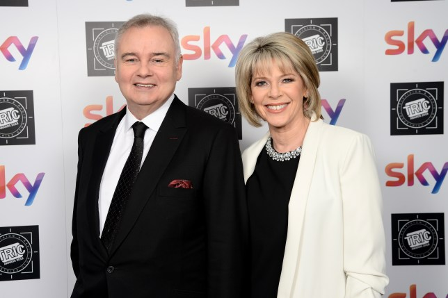 Eamonn Holmes pays heartbreaking tribute to Ruth Langsford's sister on their wedding anniversary