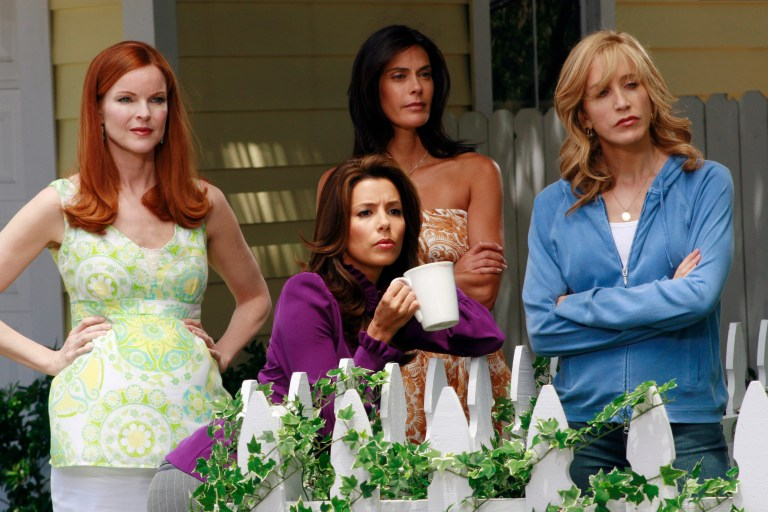 Desperate Housewives' Edie, Lynette, Gabby and Susan