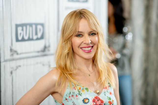 Kylie Minogue will be letting her hair down at Glasto