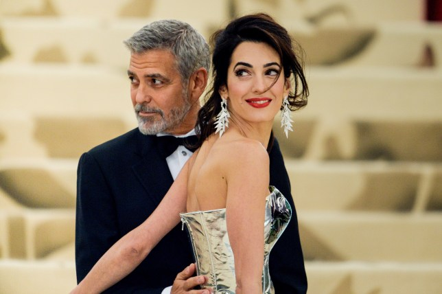 George Clooney couldn't be any more in love with wife Amal