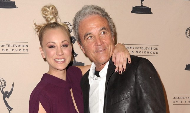 Kaley Cuoco reveals dad went to every single Big Bang Theory taping