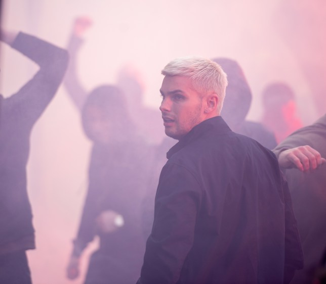 Ste riots in Hollyoaks
