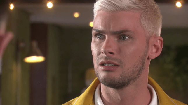 Ste makes a choice in Hollyoaks