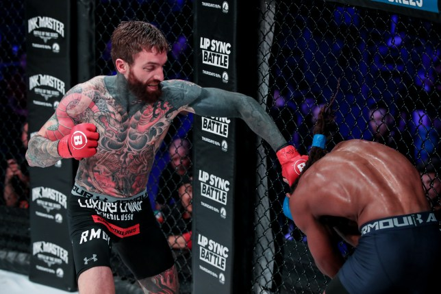 Aaron Chalmers Bellator London (Picture: Bellator