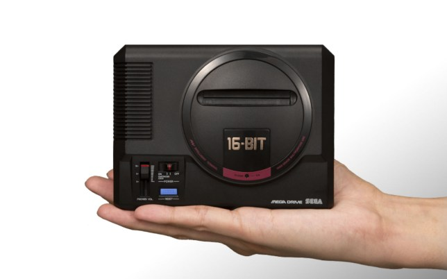 The Mega Drive Mini is really packing them in