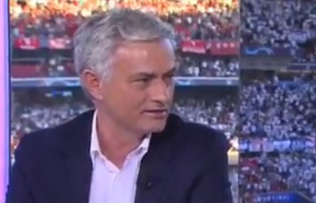 Jose Mourinho had special praise for Liverpool fans during the Champions League final
