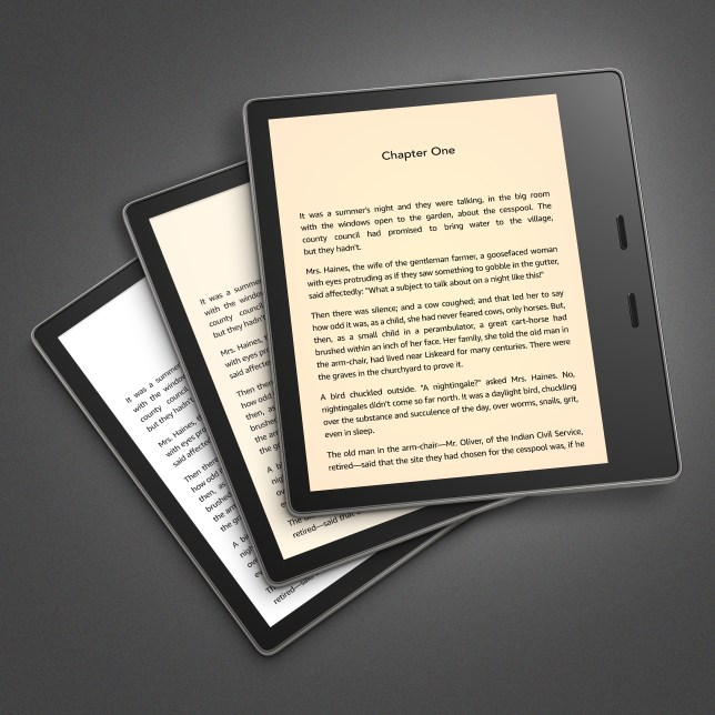 Amazon launched a new Kindle so you'll never need a paperback again