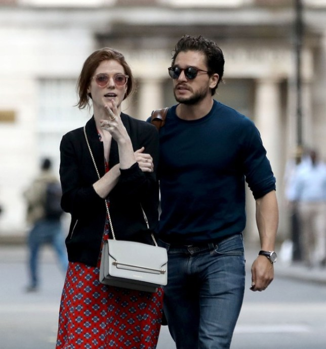 Harington Kit and Rose Leslie