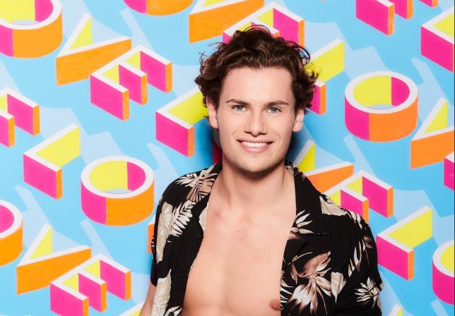 Love Island 2019 contestant Joe Garratt
