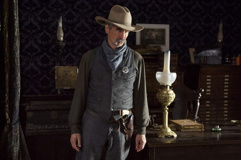 Sam Waterston in Netflix's Godless