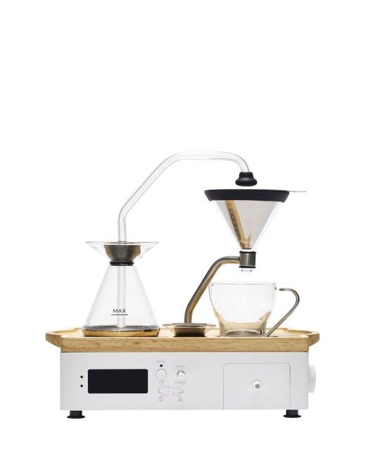 Opumo Coffee Alarm Clock in White