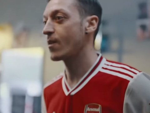 Pierre-Emerick Aubameyang & Mesut Ozil star in leaked video of Arsenal's new Adidas kit