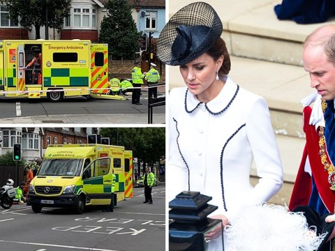 Prince William and Kate Middleton offer to visit widow hit by their police rider