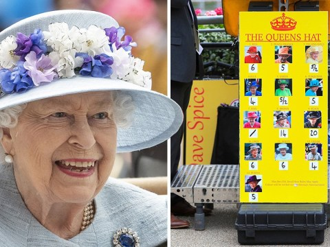 Bookies rake it in as Queen wears blue hat to Royal Ascot 2019 two days in a row
