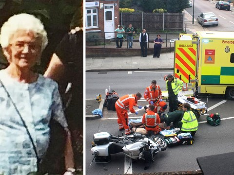 First picture of widow, 83, in serious condition after Kate and William convoy crash
