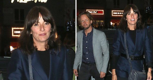 Davina McCall and 'new boyfriend'