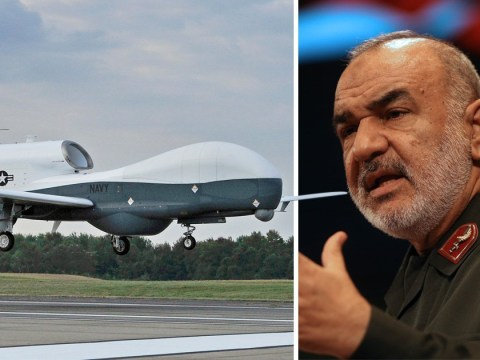 Iran says it's 'ready for war' after shooting down US military drone