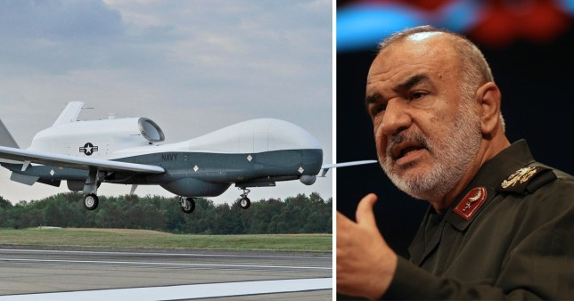 Iran has said that it is 'ready for war' after downing US drone (Picture: AP)