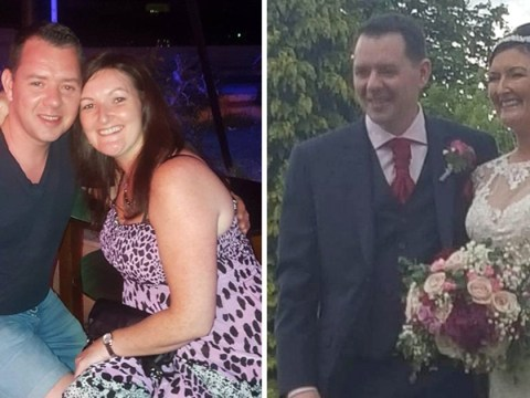 Groom fighting for life after falling 12ft through banister on wedding night